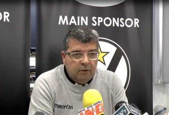 Virtus, Ramagli pre match Dinamo Sassari