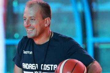 Andrea Costa, la parole di coach Cavina post Reggio Emilia