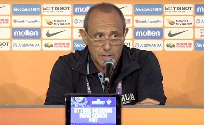 EuroBasket 2017, coach Messina post Serbia
