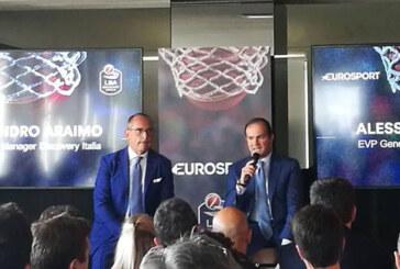 Lega Basket: presentata partnership con Eurosport