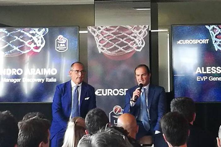 Presentata partnership Lega Basket-Eurosport