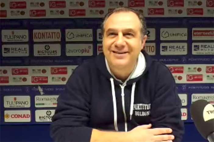 Fortitudo, le parole di Comuzzo pre match Ferrara