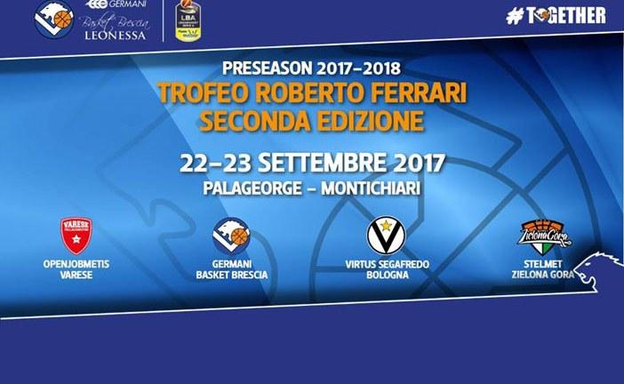Virtus, venerdì e sabato al Trofeo Roberto Ferrari