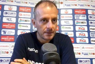 Udine, Cavina presenta il match contro la Fortitudo