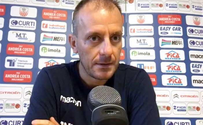 La conferenza stampa di Cavina pre match Fortitudo