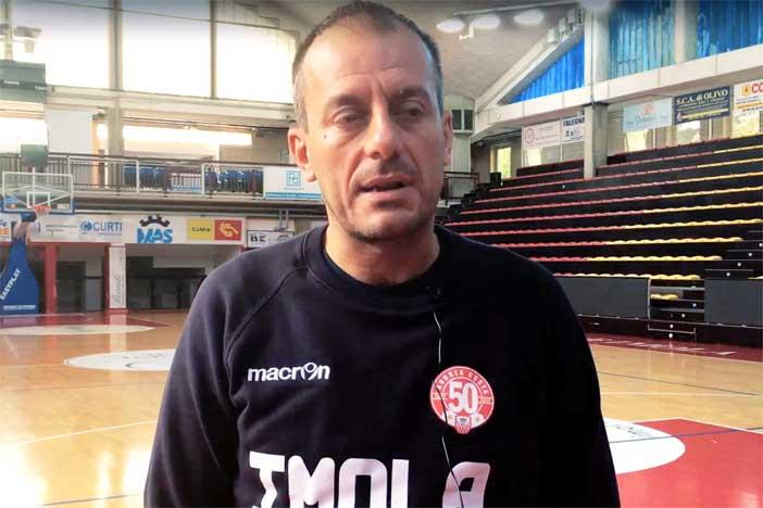 Imola, la conferenza stampa di Cavina post match Roseto