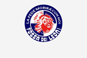 La Fossa dei Leoni organizza la trasferta di Piacenza
