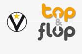 Neptunas-Virtus Bologna, Top & Flop del match
