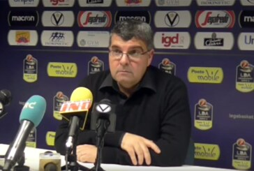 Virtus, la conferenza stampa di Ramagli post match Brescia
