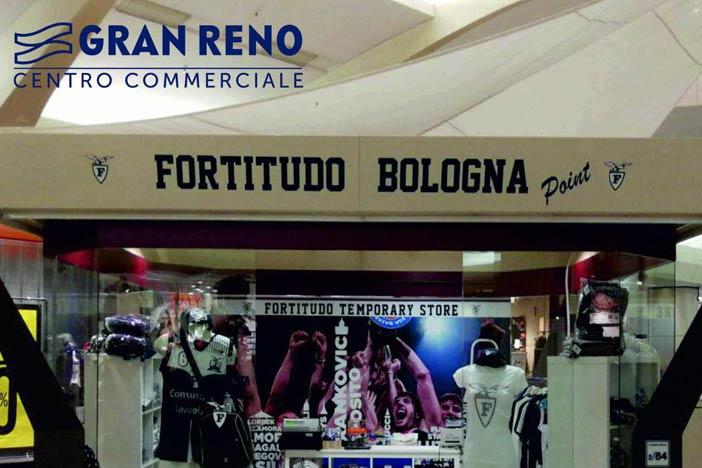 Fortitudo, domani inaugura il Temporary Store allo Shopville Gran Reno