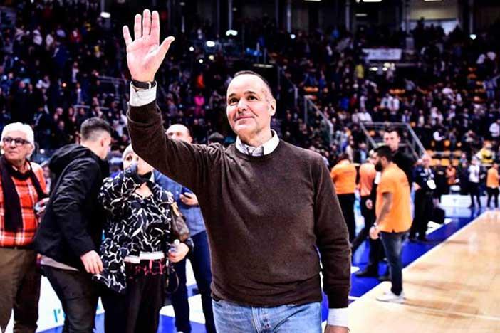 Fortitudo, standing ovation per Joey Saputo…