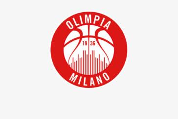 Olimpia Milano, un caso di positività al Covid-19