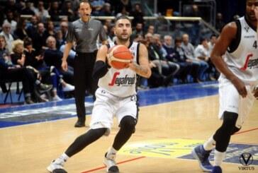 Virtus, vince Brescia nel finale con un canestro di L. Vitali