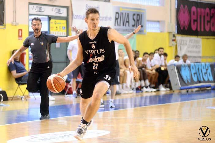 Virtus, Danilo Petrovic al We're Basket Ortona