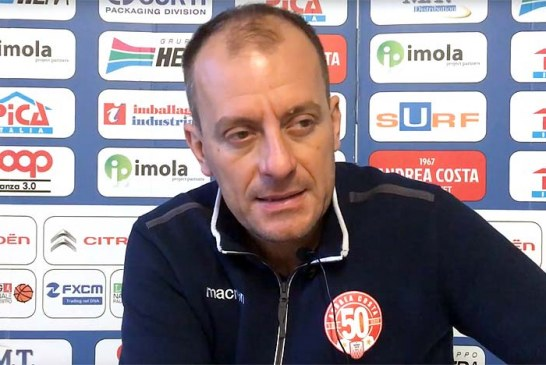 Imola, la conferenza stampa di Cavina post match Udine