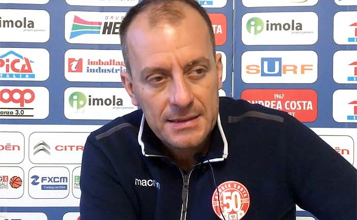 Imola, la conferenza stampa di Cavina post match Fortitudo