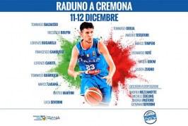 Nazionale: mini raduno a Cremona, con 14 giocatori di A2 e uno di A. C'è Oxilia