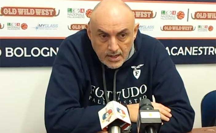 Fortitudo, la conferenza stampa di Boniciolli e Fultz post Ravenna