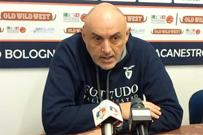 Fortitudo, le parole di Matteo Boniciolli pre match Ravenna