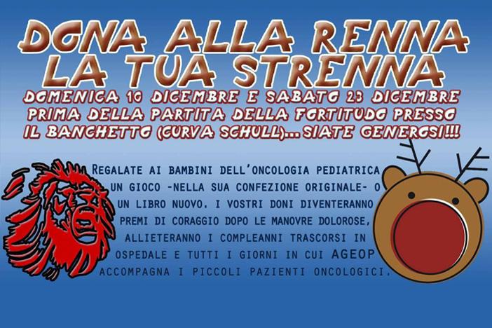 """Fossa e solidarietà, anche quest'anno """"Dona alla renna la tua strenna"""""""