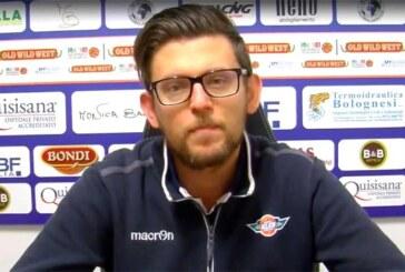 Ferrara, Andrea Bonacina presenta il match contro Cento
