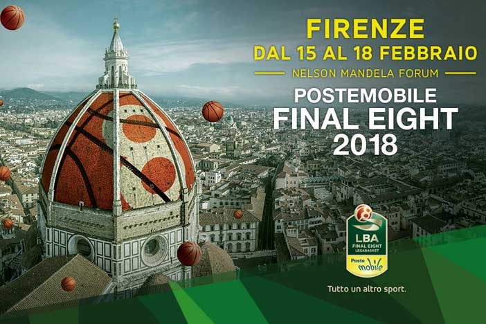 PosteMobile Final Eight 2018, la programmazione Tv