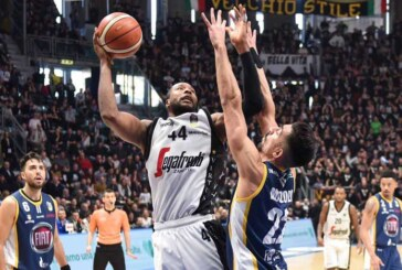 Virtus, Slaughter al suo top in Serie A