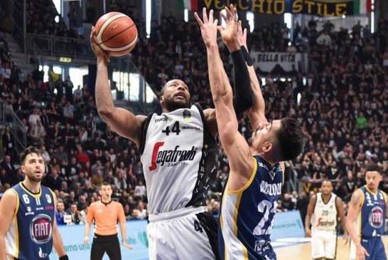 Virtus, Slaughter al suo top in Serie A