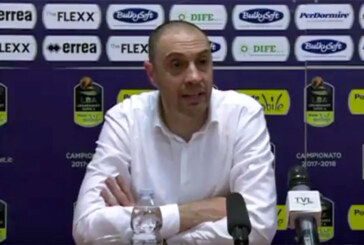 Pistoia, la conferenza stampa di Esposito post match Virtus