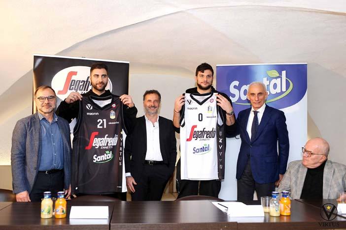 Santàl nuovo co-sponsor di Virtus Segafredo