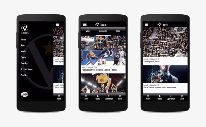 "Virtus, una nuova ""app"" per seguire sempre i bianconeri"
