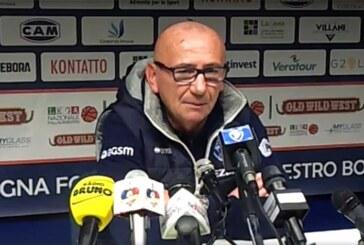 Verona, le parole di Dalmonte pre match Fortitudo