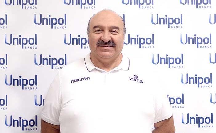 Maurizio Serapini alla sua terza stagione in casa Virtus