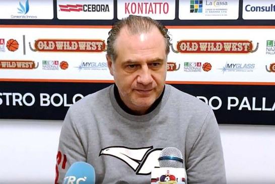 Fortitudo, la conferenza stampa di Comuzzo post match Imola