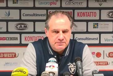 Fortitudo, le parole di Comuzzo post match Unieuro Forlì