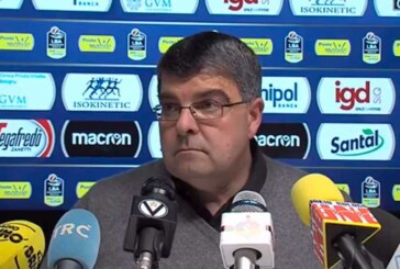 Virtus, la conferenza stampa di Ramagli post match Brindisi