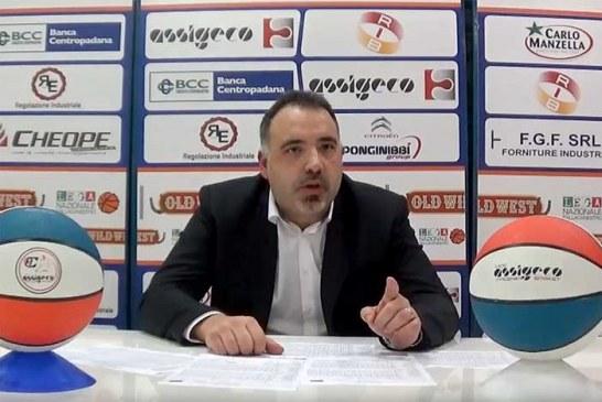 Piacenza, le parole di Riva post match Fortitudo
