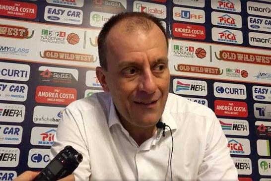 Imola, la conferenza stampa di Cavina post match Montegranaro