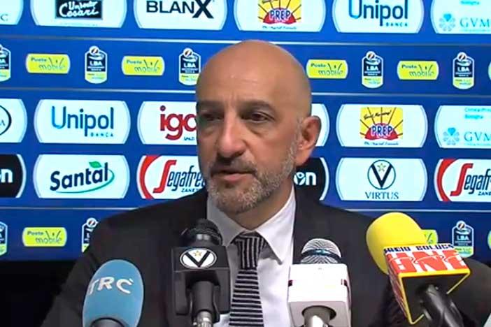 Brindisi, Frank Vitucci post match Virtus