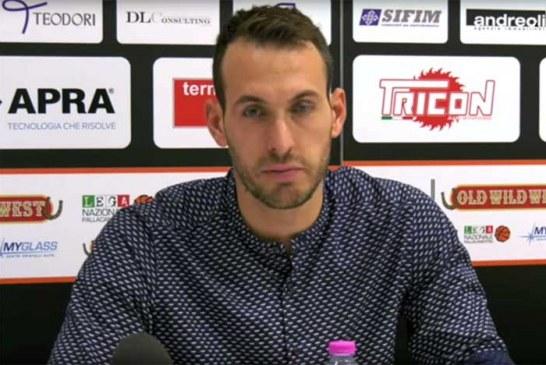 Montegranaro, la conferenza stampa di Ceccarelli post match Imola