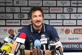 A2 Playoff – Quarti Gara4: la conferenza stampa di Pozzecco post match Verona