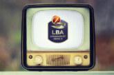 Lega Basket Serie A: la programmazione della 6 giornata