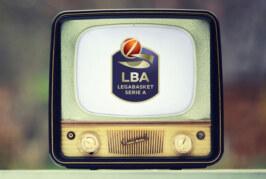 Lega Basket Serie A: la programmazione fino alla 28ma giornata
