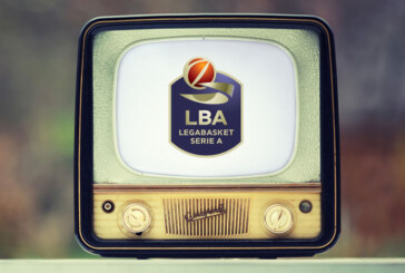 Lega Basket Serie A: la programmazione del 5°, 6° e 7° turno