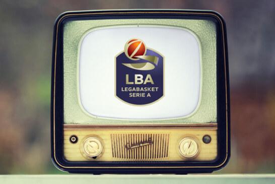 Lega Basket Serie A: <br>la programmazione del 15° turno di ritorno
