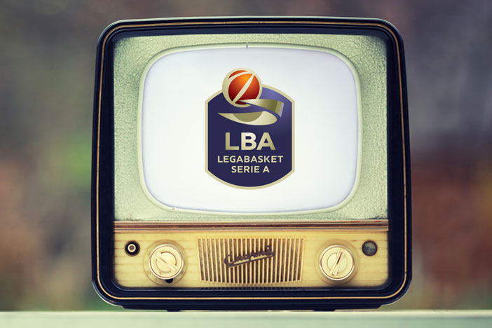 Lega Basket Serie A: <br>programmazione 2-3-4° turno di campionato