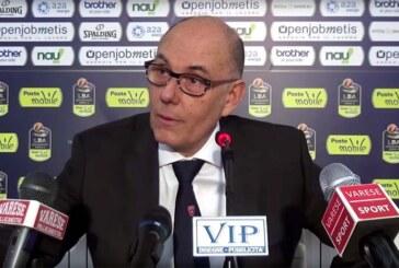 Varese, coach Attilio Caja post match Virtus