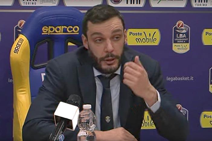 Torino, le parole di Galbiati pre match Virtus Bologna