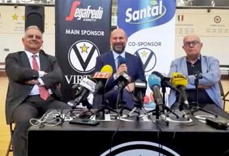 Virtus, la presentazione ufficiale di Alessandro Dalla Salda
