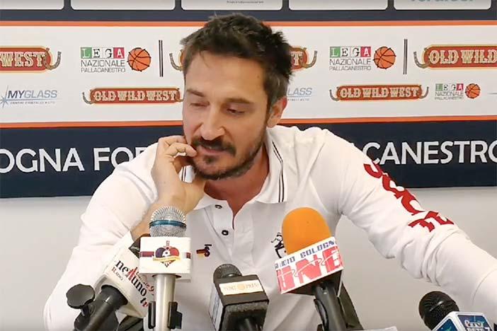 Sassari, la presentazione di Gianmarco Pozzecco